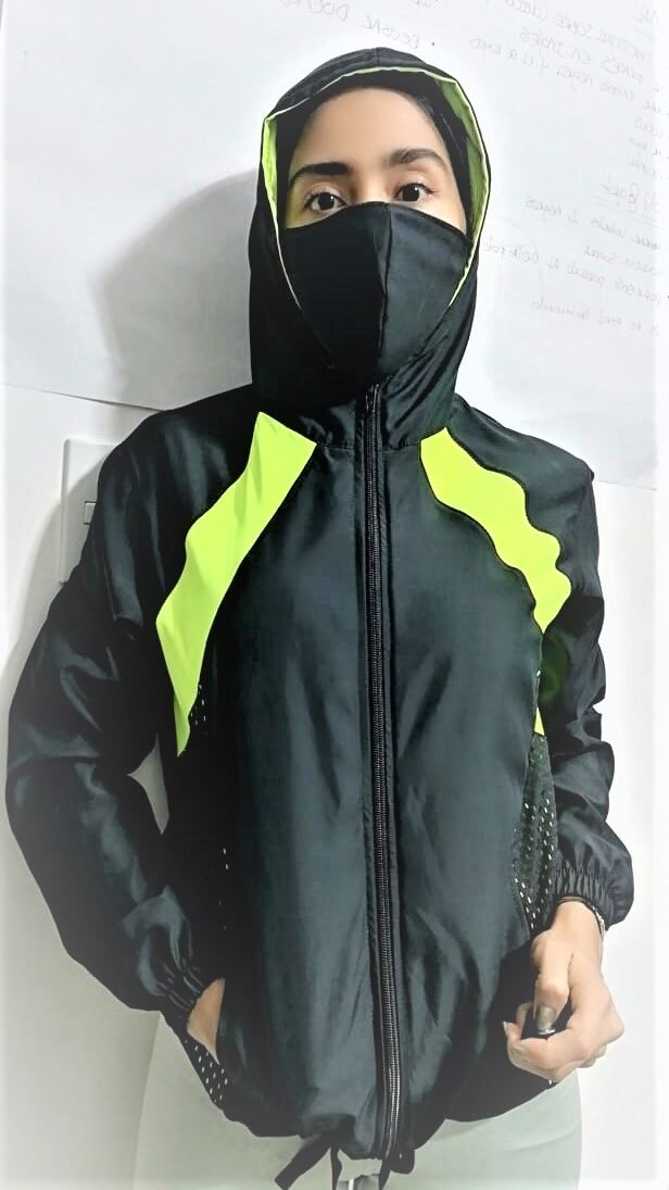 design your own warm up jacket