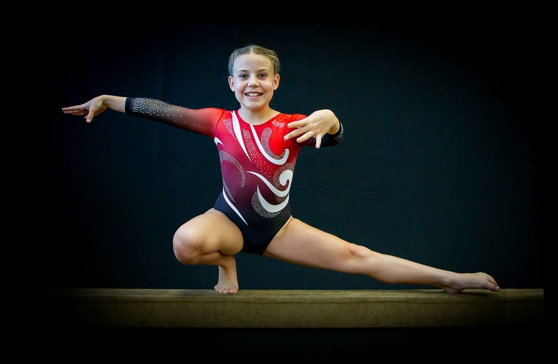 personalized leotard for gymnastic teams